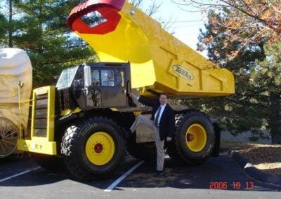 Tonka's Mighty Dump Truck Mobile Tour