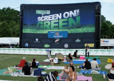 PeachTree TV's Screen on the Green