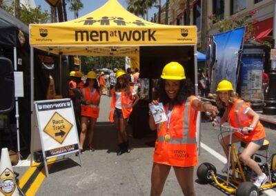 "TBS: ""Men at Work"" Launch"