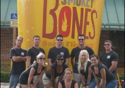 Smokey Bones Fire & Grill Street Teams