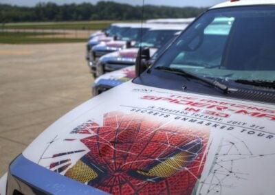 The Amazing Spider-Man Mobile Marketing Tour