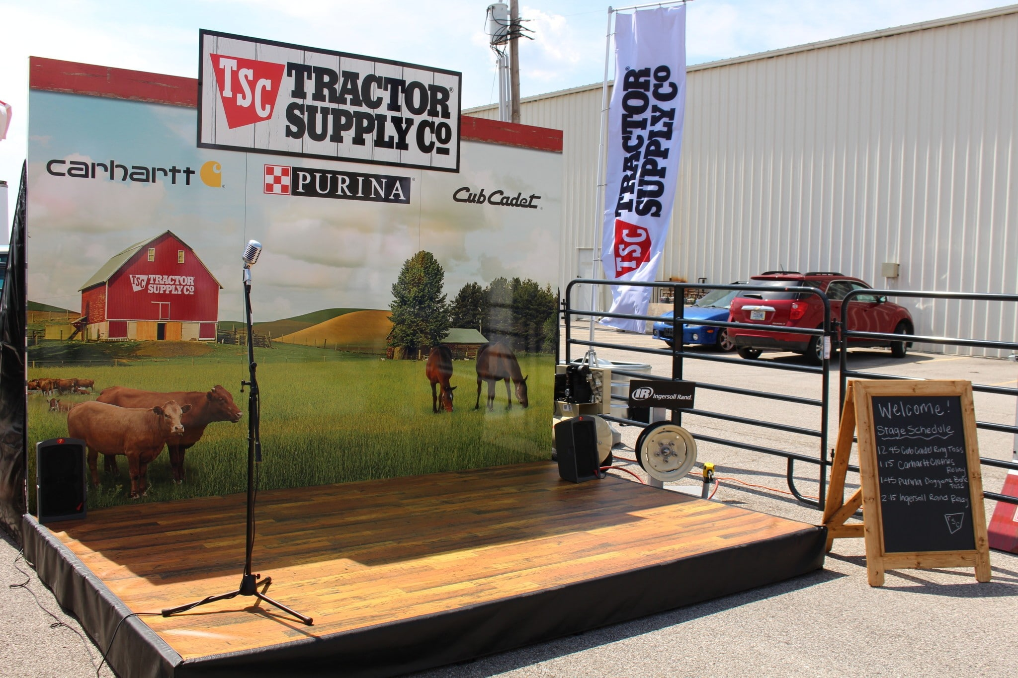 Tractor Supply Factory : Tractor supply company follow us to the fair pro motion