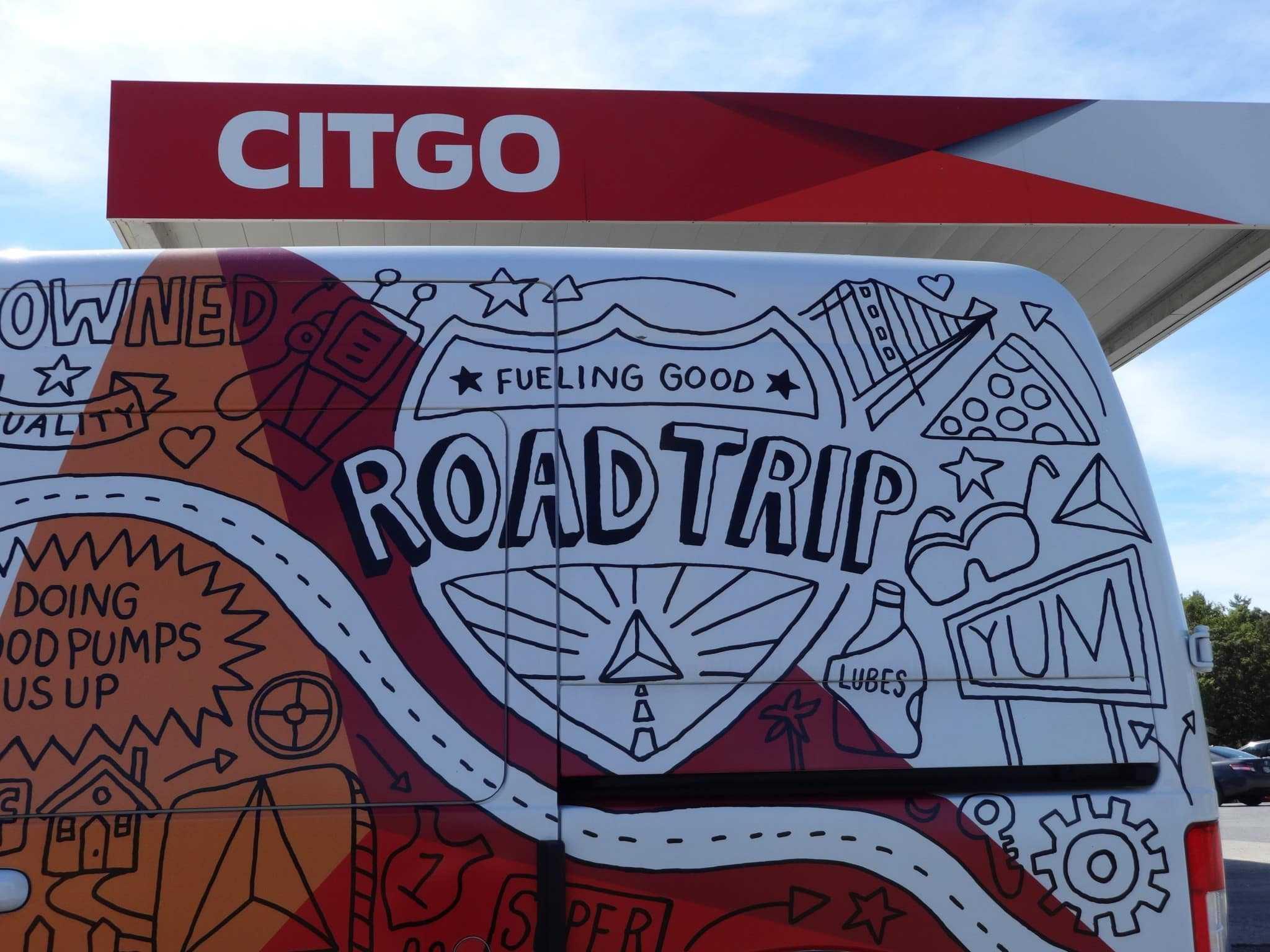 citgo fueling good road trip 20
