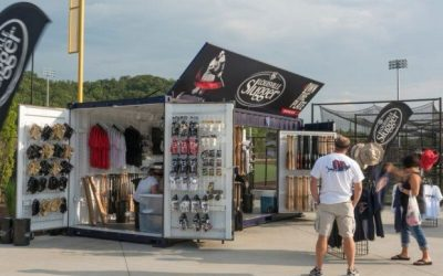 Louisville Slugger Has a Hit with Shipping Container Pop-Up Shops