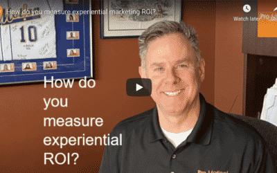 FAQ – How do you measure experiential ROI?