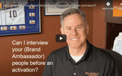 FAQ – Can I interview your people before activation?