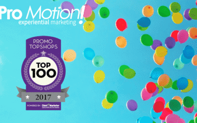 Pro Motion, Inc is named a 2017 PROMO Top Shop