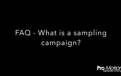 FAQ – What is a sampling campaign?