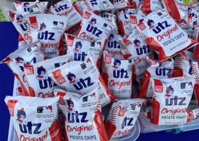 Utz Snacks All Star Game Sampling