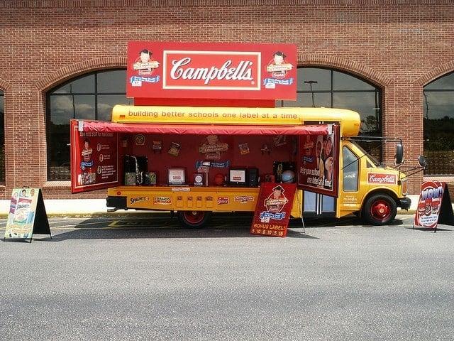 campbells labels for education bus mobile tour 5