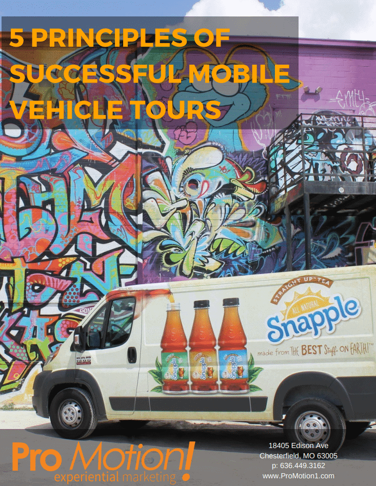 5 Principles of Successful Mobile Vehicle Tours