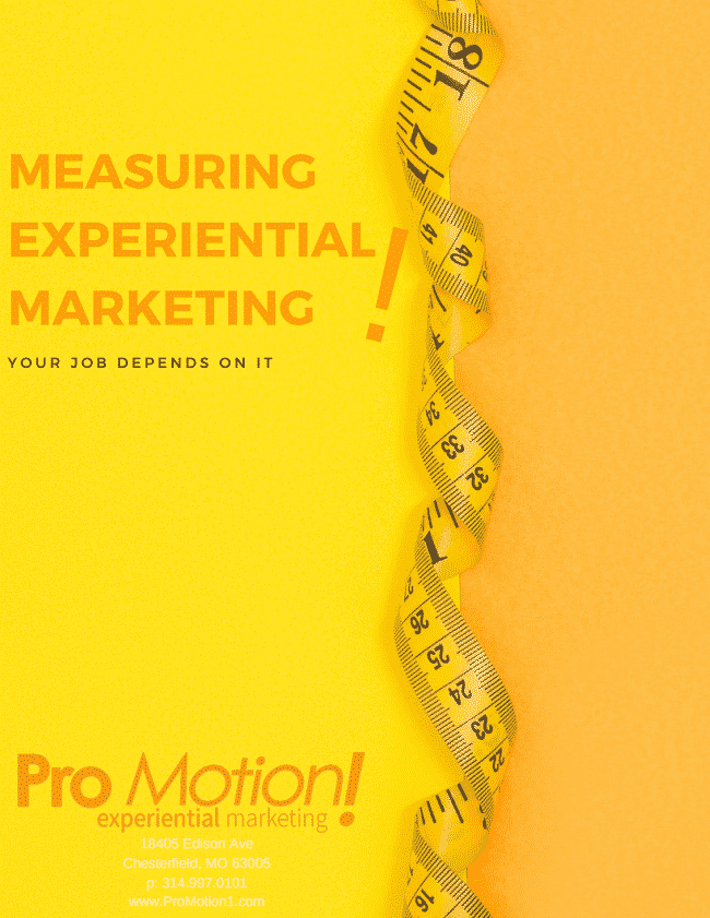 Measuring Experiential Marketing
