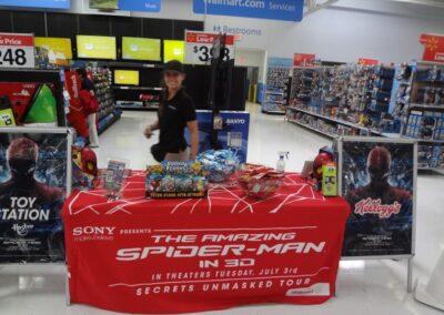 Spiderman Inside Walmart