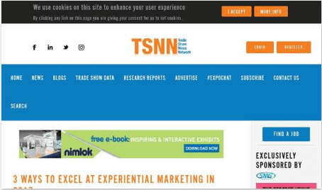 3 Ways to Excel at Experiential Marketing in 2017 TSNN Trade Show News