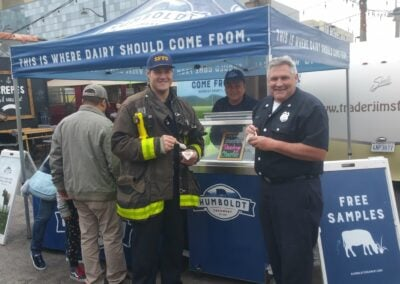 Humboldt Ice Cream for First Responders 1