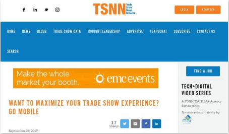 Want to Maximize Your Trade Show