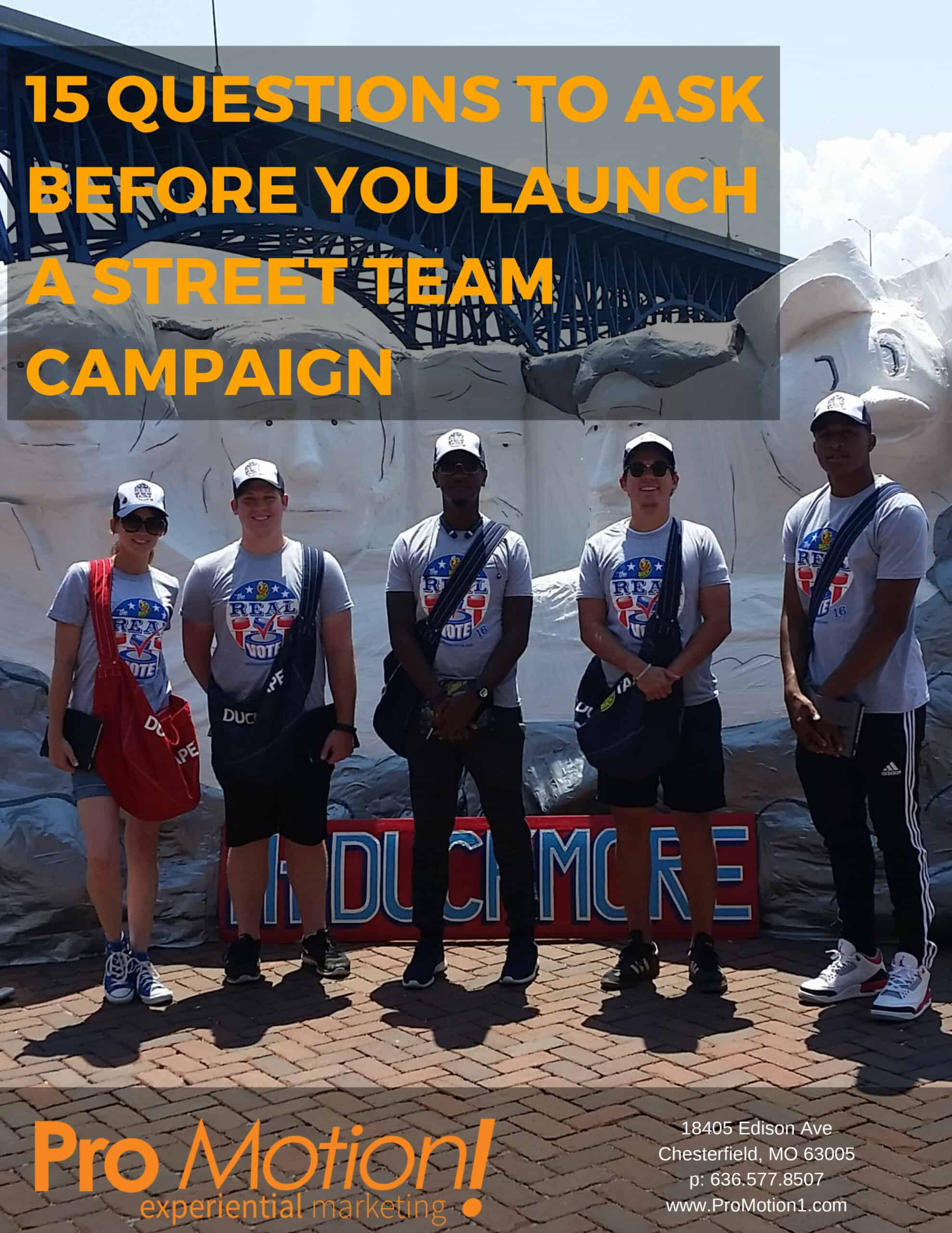 15 Questions To Ask Before You Launch A Street Team Campaign scaled