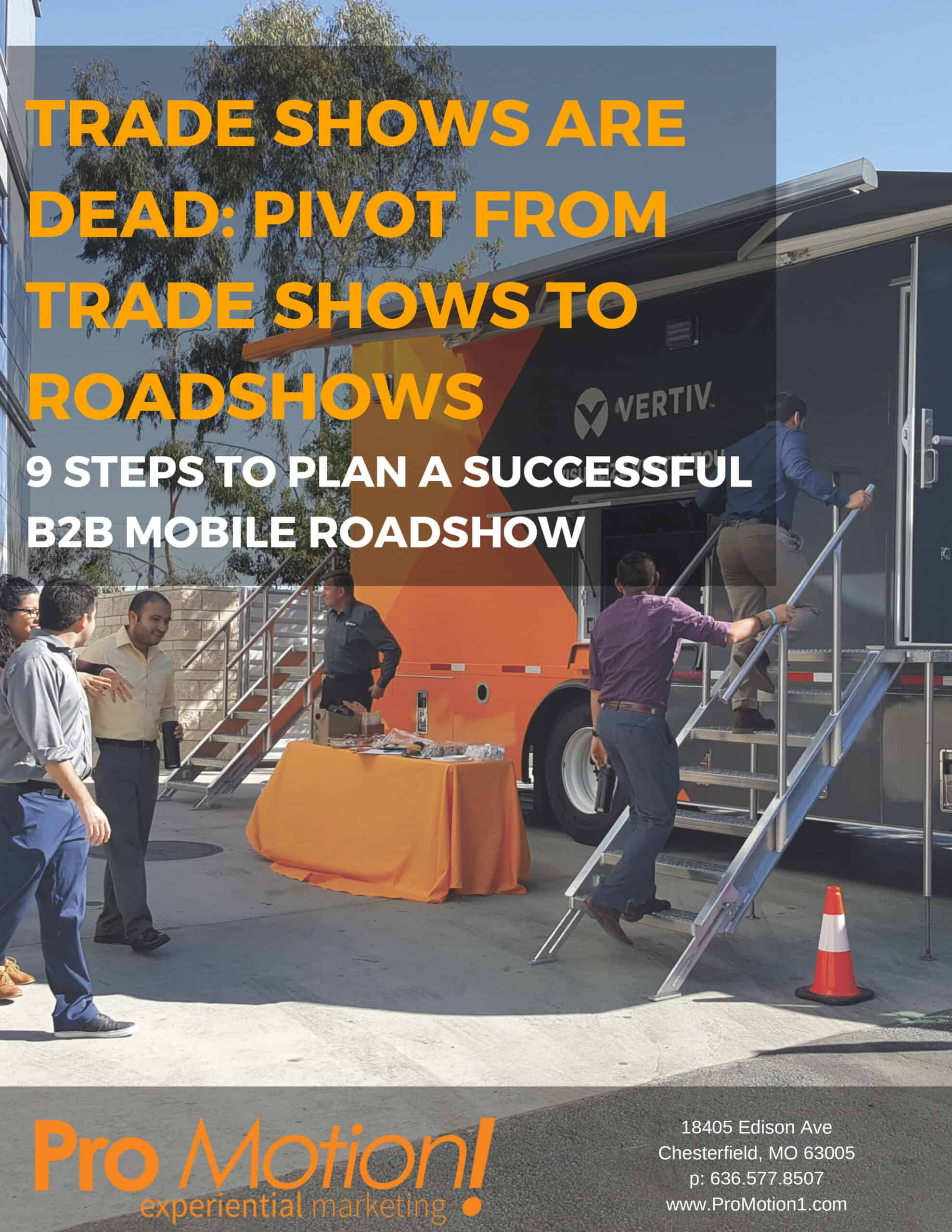 Trade Shows are Dead 9 Steps to Plan a Successful B2B Mobile Roadshows 1 scaled